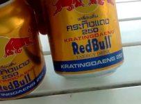 Nước tăng lực Red bull giả